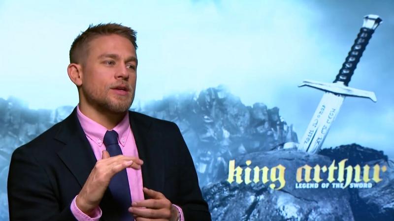 2017_май, 12: Интервью в Лондоне - Charlie Hunnam Tells Us 5 Things About King Arthur_ Legend of the Sword