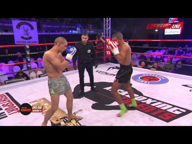 Zakaria Badrane (Morocco) vs Percy Timmer (Indonesia) | Enfusion Kickboxing Talents