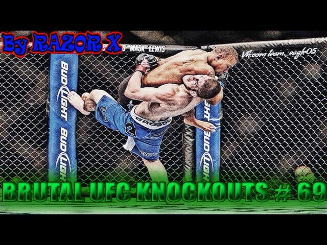 САМЫЕ ЛУЧШИЕ НОКАУТЫ В MMA 69 BRUTAL UFC KNOCKOUTS BELLATOR MMA 2016 ПОДБОРКА НОКАУТОВ