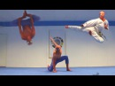 SPIDERMAN TAEKWONDO TRAINING in Real life | Flips Kicks