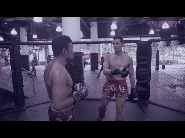 Muay Thai Counter - Parrying and Attacking when Your Opponent Jabs