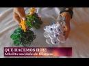 Arbolito de Filigrana con papel de colores - Adornos Navideños