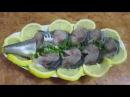 Скумбрия в пряном маринаде Mackerel in a spicy marinade.