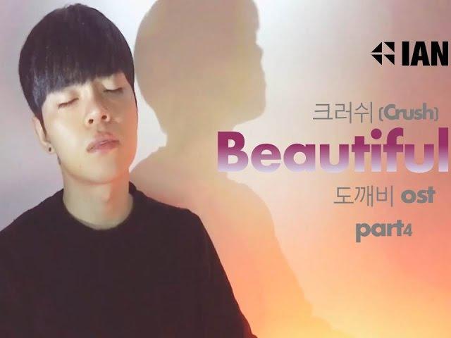 크러쉬 (Crush) - Beautiful [도깨비 OST] / 방구석라이브 9 (이안 김석구 IAN Cover)