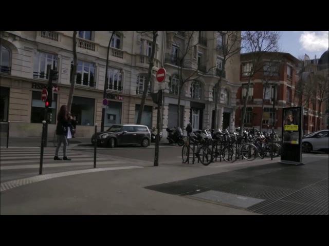 Французским пешеходам нарушающим ПДД преподали хороший урок