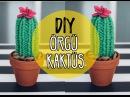 Kendin Yap Örgü Kaktüs / DIY Cactus