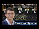 ВНИМАНИЕ!!! Е.Мураев. Суд в Гааге это позор, поражение и никакой перспективы для У ...