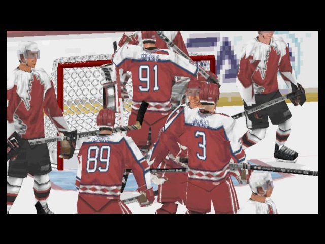 NHL 2001: Gameplay - PS1 [Canada vs Russia]