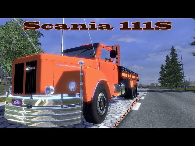 Euro Truck Simulator 2 - Scania 111s