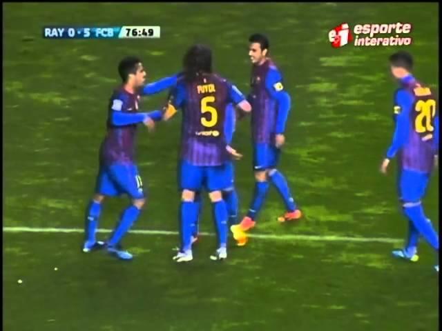 Eu quero Tchu de brasileiros irrita Puyol no Barcelona