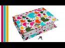 How to make secret box DIY book box secret storage . Secret box making / Julia DIY