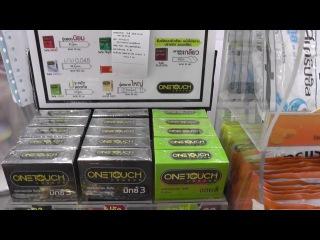 Члены мужчин, большие члены, маленькие члены. Размеры презервативов в Таиланде.