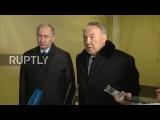 Россия: Путин и Назарбаев предлагают соболезнования семьям погибших в авиакатастрофе.