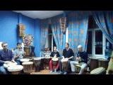 Композиция с гитарой. Группа Sun Drums и Александр Борисов