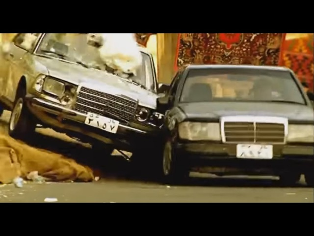Родина ждёт (2003) - car chase scene