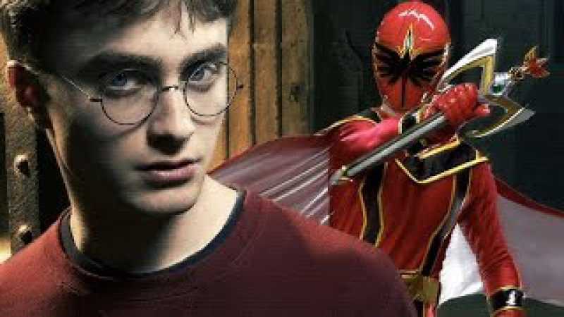 Harry Potter (Power Rangers: Mystic Force Style!)