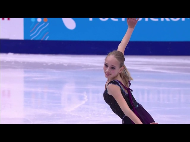 2017 Russian Nationals Alisa Lozko FS ESPN