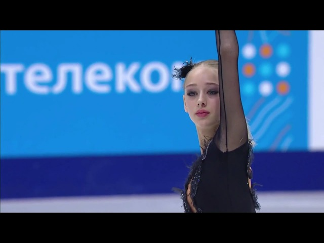 2017 Russian Nationals Alisa Lozko SP ESPN