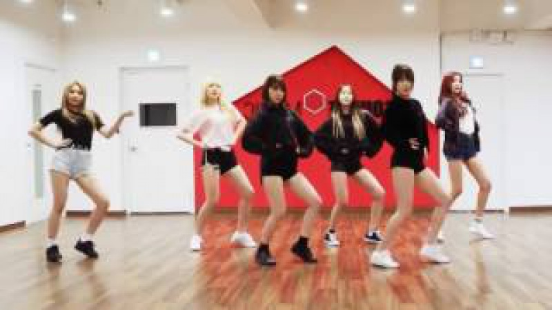 GFRIEND Fingertip mirrored Dance Practice