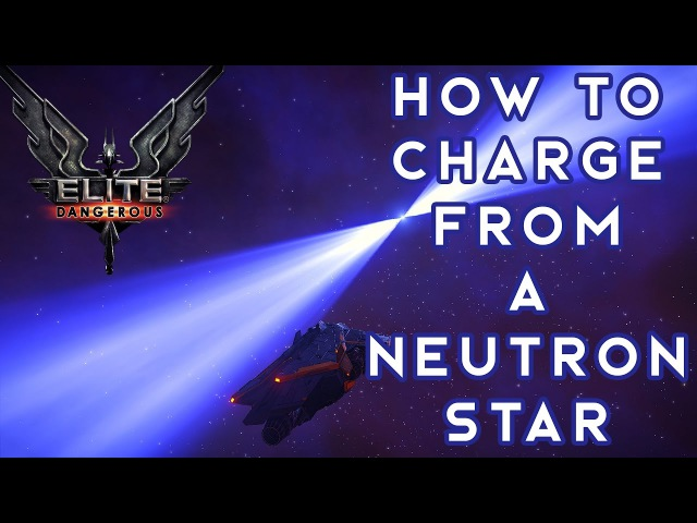 HOW TO CHARGE FROM A NEUTRON STAR