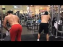Dylan Sprayberry and Cody Christian At The Gym
