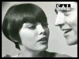 Mireille Mathieu et Sacha Distel - 1966 ( Rare Video )