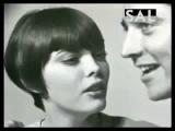 Mireille Mathieu et Sacha Distel - 1966 ( Rare Video )