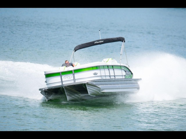 THE BEST PERFORMING PONTOON IN THE INDUSTRY-- MANITOU PONTOON BOATS