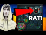 Dendi Megacreeps Rat Play,