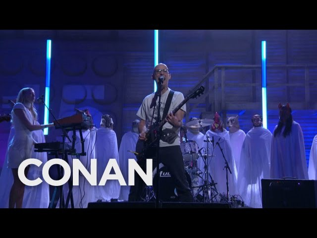 Moby And The Void Pacific Choir Are You Lost In The World Like Me? 11/16/16 - CONAN on TBS