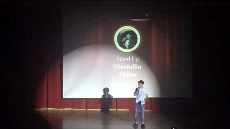 StandUP special Mr.SDU concert. Alisher Abaidullin. 18/11/16