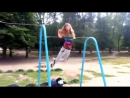 Турники и Брусья, street_workout_girl. Богдана Ковальчук