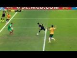 Последний гол Давида Вильи за сборную Испании (Австралия - Испания)