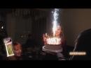 Бенгальские огни(фонтаны) в торт от Цветной-дым.рф
