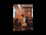 Выступление Шри Шри Рави Шанкара на форуме Этика в Бизнесе в Мексике 06.12.2016 (5 мин.)