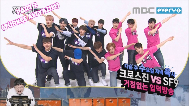 Weekly Idol - Cross Gene SF9 Part 2 (Türkçe Altyazılı/Turkish sub) » Freewka.com - Смотреть онлайн в хорощем качестве