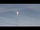 Запуск ракеты. 20 апреля 2017 космодром Байконур.