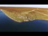 #ХэлоуВоркута  Воркута. река Уса. (Vorkuta. The Usa river.)