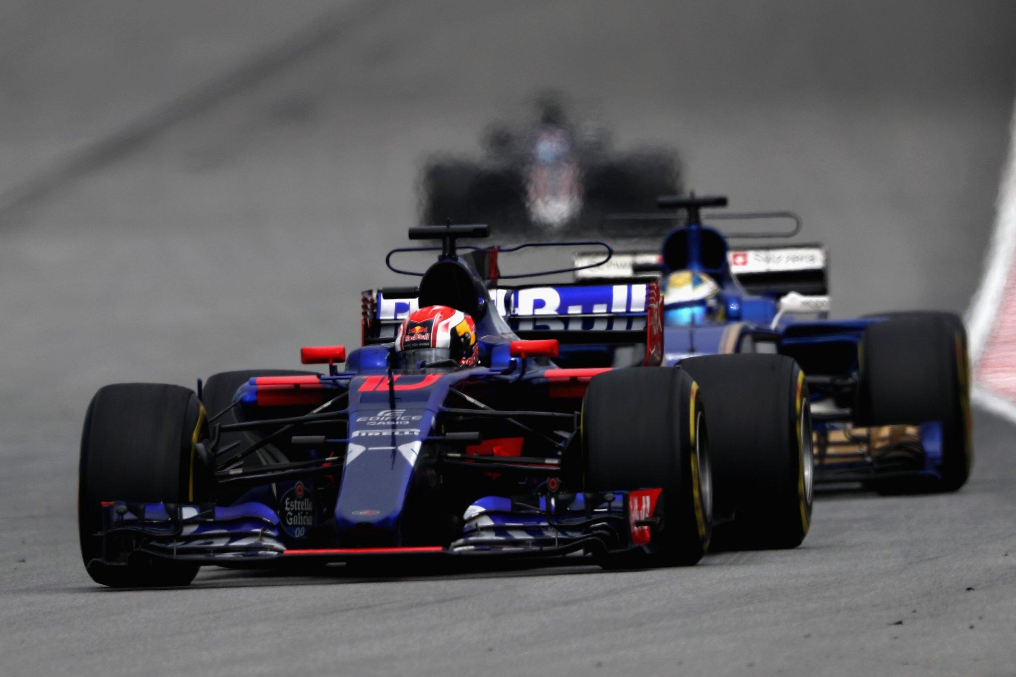Дебютант Toro Rosso Пьер Гасли сумел довести свой болид до финиша гран-при Малайзии