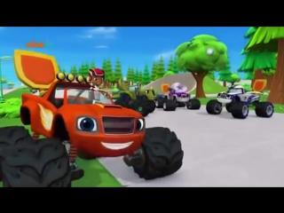 Вспыш красная машинка и его друзья - команда для автомяча (серия 10)
