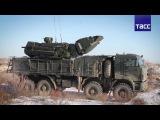 Новейшие комплексы ПВО Панцирь-С1 прибыли в Западную Сибирь. 30.12.2016.