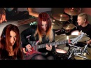 METALLICA - For Whom The Bell Tolls [COVER] | Jassy J , Avery Drummer, Sandra Szabo WhiteSlash