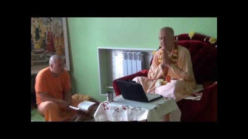 BVV Narasimha Swami, SB Class 1.7.37, Blagoveshchensk 03.09.2016 (Eng-Rus)