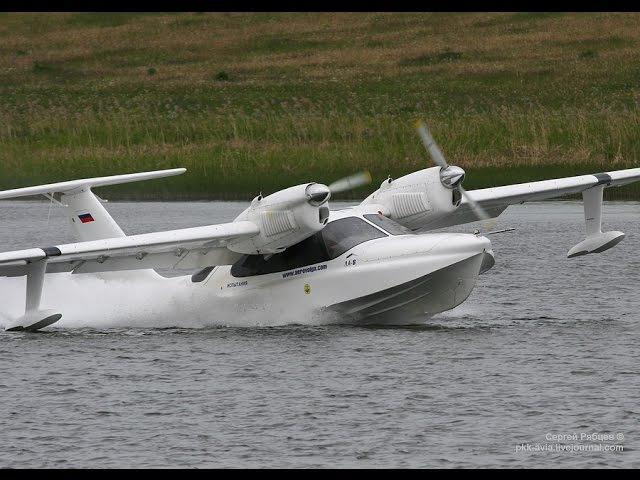 Первая серийная амфибия ЛА-8. Малая авиация