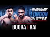 FIGHTSTAR CHAMPIONSHIP 8 Boora vs. Rai
