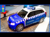 The Police Car + 1 HOUR kids videos Catching Bad Cars the Race Car   Police Chase Video For Kids