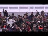 Танцевальный флешмоб на Воробьевых горах 26.02.12