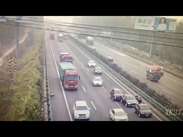 Китай, Пекин, бараны на дороге, ДТП, авария, к чему приводит несоблюдение ПДД