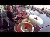CRYPTOPSY@Benedictine Convulsions--Flo Mounier-Live in Brutal Assault 2017 (Drum Cam)