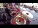 CRYPTOPSY@Benedictine Convulsions--Flo Mounier-Live in Brutal Assault 2017 Drum Cam